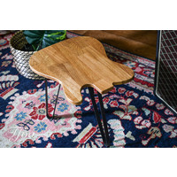 Ruwdesign Solid Oak Guitar Side Table T Model