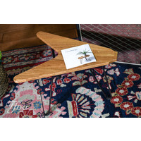 Ruwdesign Solid Oak Guitar Side Table The V