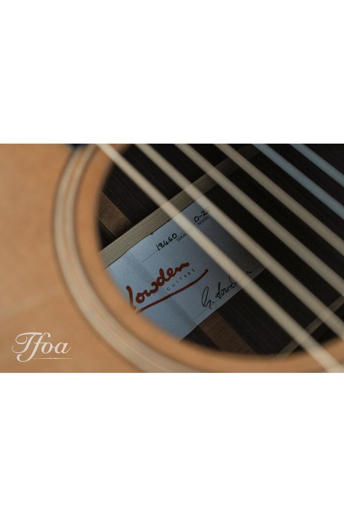 Lowden O25 Rosewood Cedar 2014