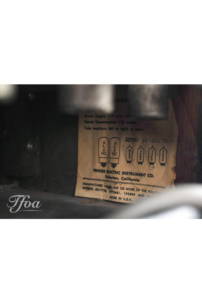 Fender Blackface Bassman AA864 1964 + 2x10 Cabinet
