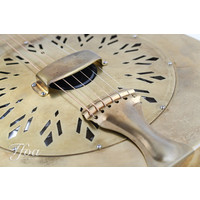 National Raw Series 12 fret brass