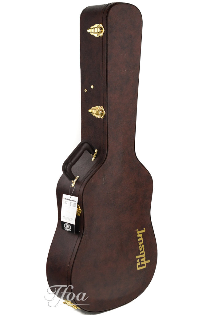Gibson Acoustic Dreadnought Case Dark Rosewood Brown