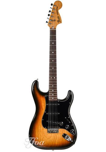 Fender Fender Stratocaster Hardtail Sunburst 1980