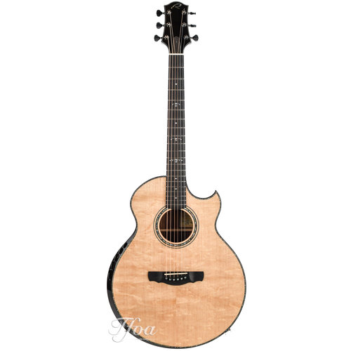 Kevin Ryan Kevin Ryan Cathedral Grand Fingerstyle Honduran Rosewood Bearclaw Sitka Spruce