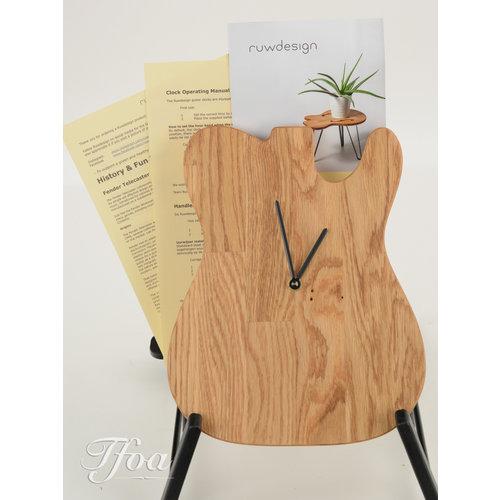 Ruwdesign Ruwdesign Guitar Clock T-Model