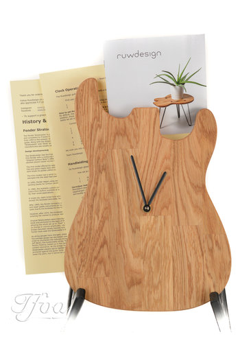 Ruwdesign Ruwdesign Guitar Clock S-Model