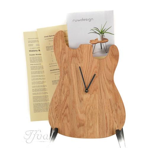 Ruwdesign Ruwdesign Guitar Clock S-Model