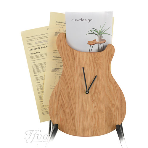 Ruwdesign Ruwdesign Guitar Clock Paulus