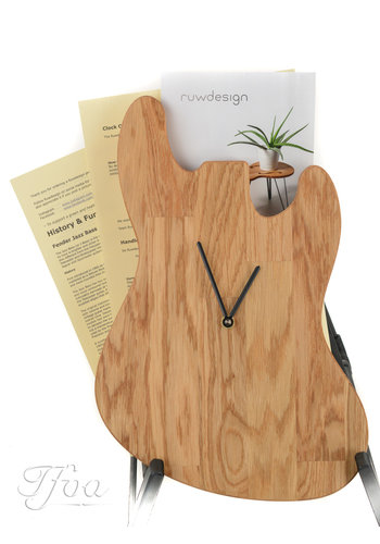 Ruwdesign Ruwdesign Guitar Clock J-Bass