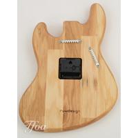 Ruwdesign Guitar Clock J-Bass