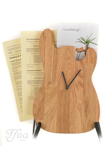 Ruwdesign Ruwdesign Guitar Clock P-Bass