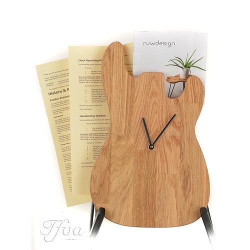 Ruwdesign Ruwdesign Guitar Clock P-Bass