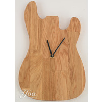 Ruwdesign Guitar Clock P-Bass