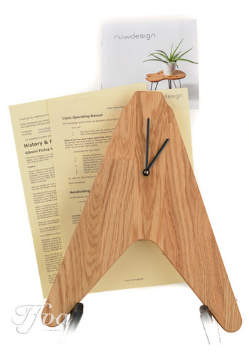 Ruwdesign Ruwdesign Guitar Clock The V
