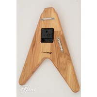 Ruwdesign Guitar Clock The V