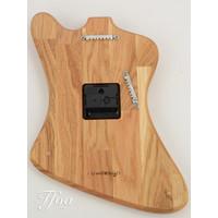Ruwdesign Guitar Clock Fire B