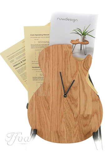 Ruwdesign Ruwdesign Guitar Clock Single Cut