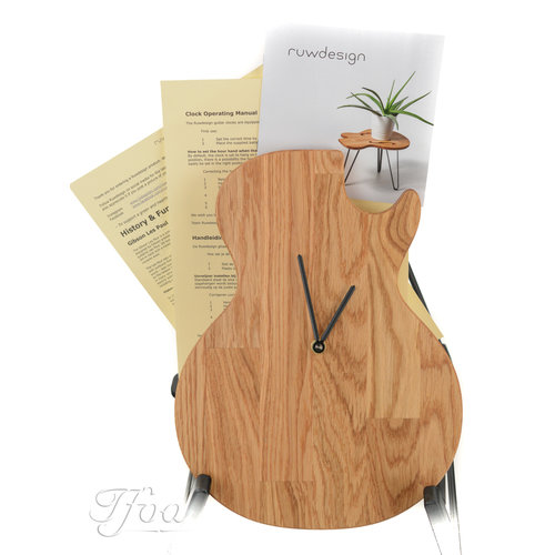 Ruwdesign Ruwdesign Guitar Clock Single Cut