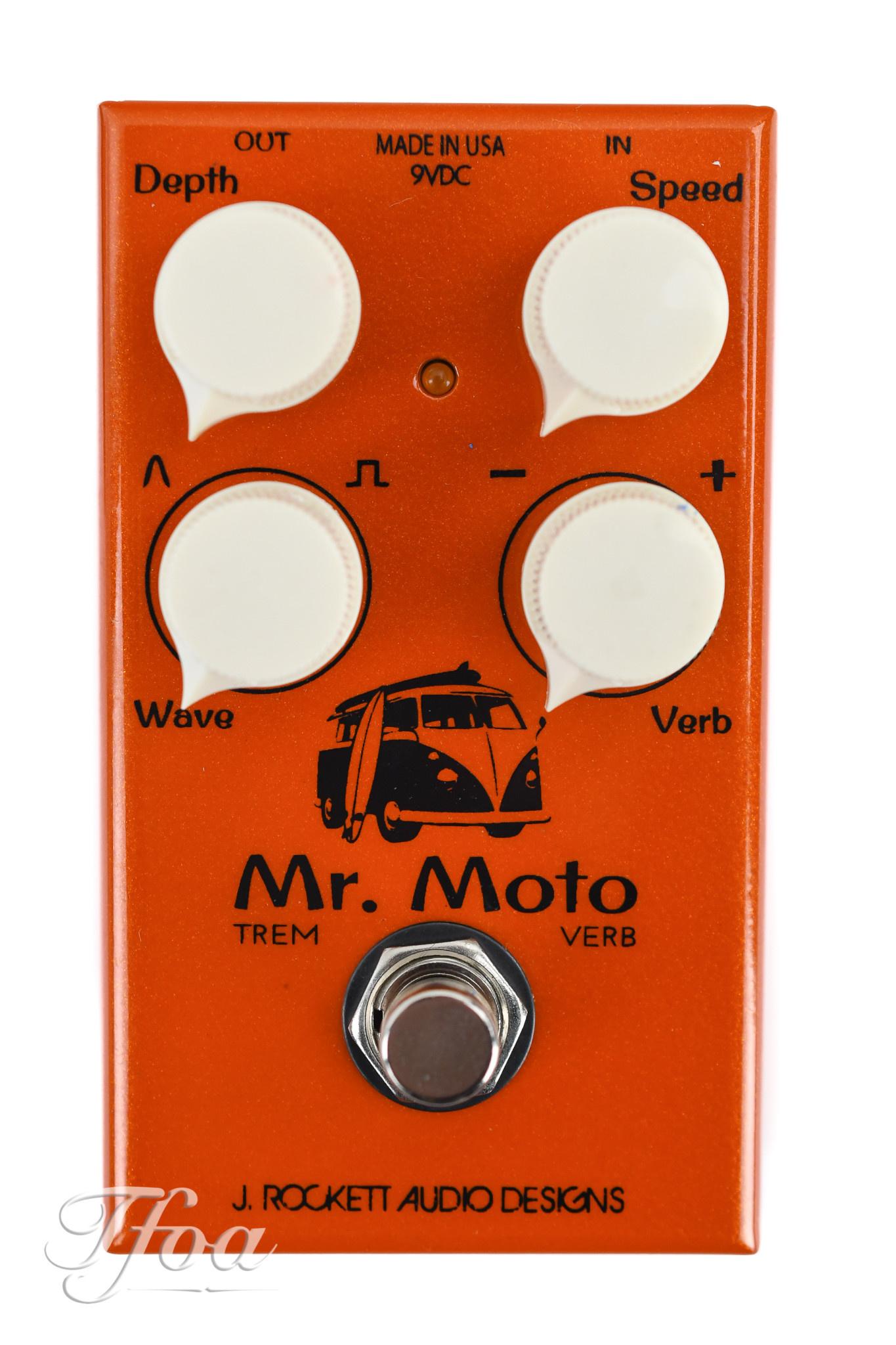 Rockett Mr. Moto Trem Verb