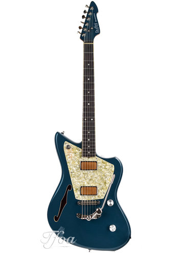 Rufini Guitars Rufini Guitars Montefalco Semi Hollow Magpie Metallic