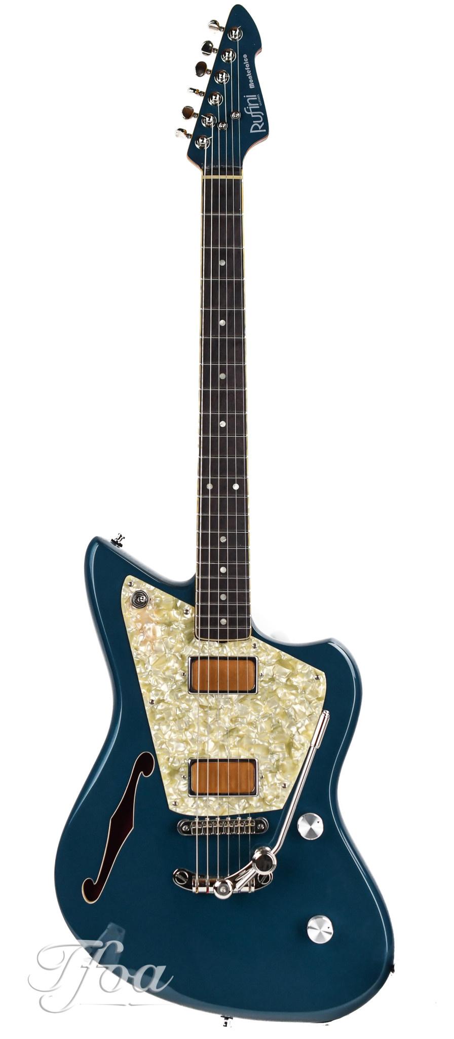 Rufini Guitars Montefalco Semi Hollow Magpie Metallic