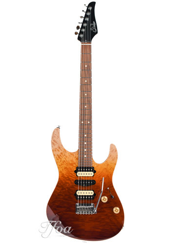 Suhr Suhr Modern Plus Curly Desert Gradient 2018 Near Mint
