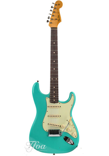 Fender Custom Fender Custom Shop 1960 Stratocaster Sea Foam Green Journeyman