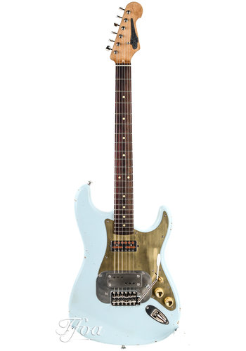 Waterslide Waterslide Coodercaster S-Style Sonic Blue