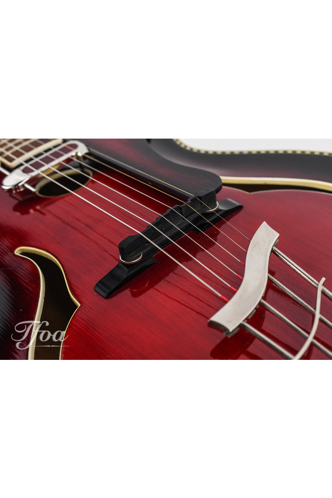 Klira Red King 1950s Archtop