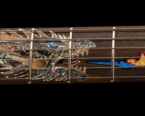 NAMM 2020: PRS Private Stock 35th Anniversary Dragon