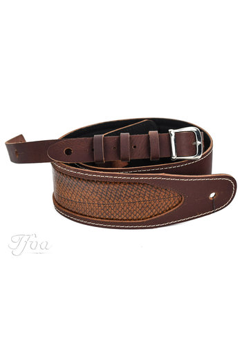 Richter Straps Richter 1062 Luxury Rattlesnake Brown