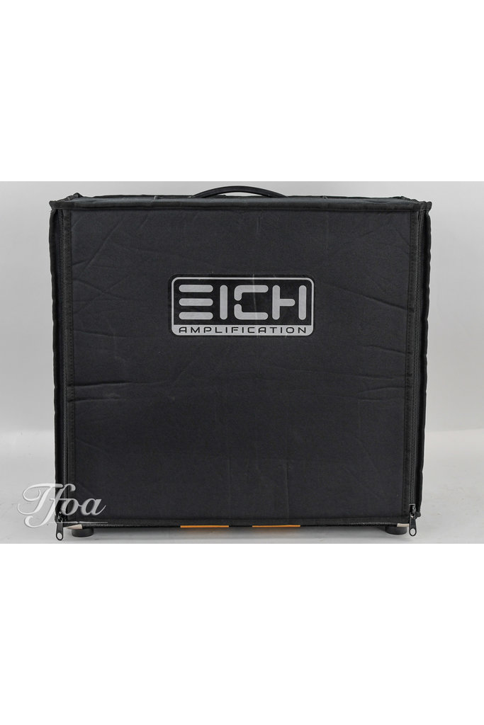 Eich G112W 1x12 60 Watts 16 Ohms Black Cabinet
