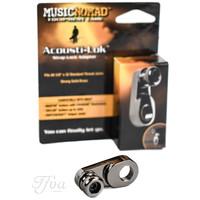 Acousti-Lok Strap Lock Adapter for Metric Output Jacks