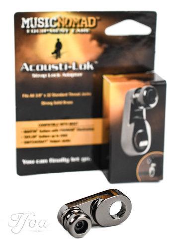 Music Nomad Music Nomad Acousti-Lok Strap Lock Adapter Metric Output Jacks