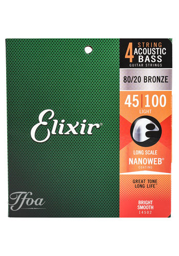 Elixir Elixir 14502 Acoustic Bass Strings
