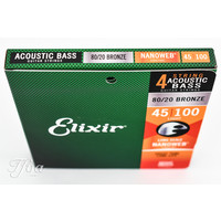 Elixir 14502 Acoustic Bass Strings