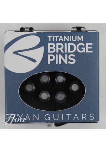 Kevin Ryan Kevin Ryan Titanium Bridge Pins Mother of Pearl