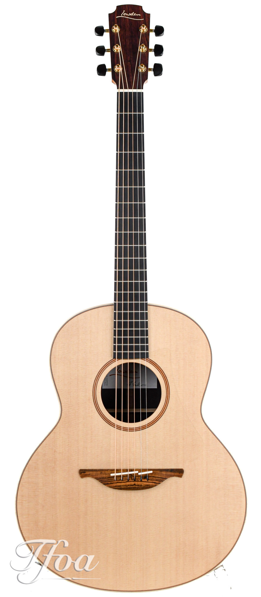 Lowden F32 Indian Rosewood  Sitka Spruce