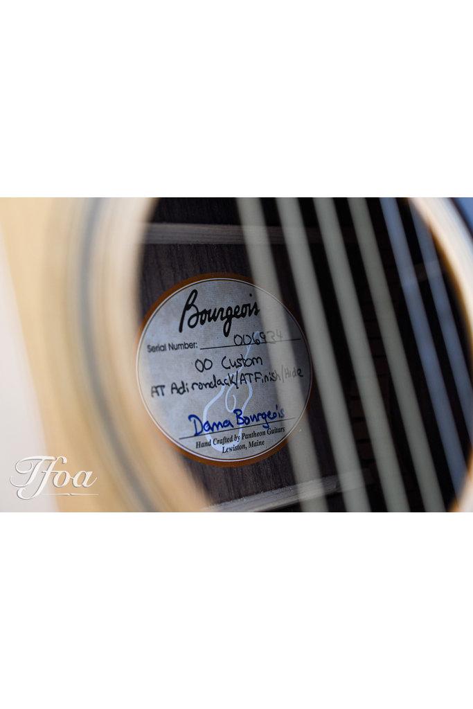 Bourgeois Custom 00 14-Fret Torrified Adirondack - Figured Rosewood 2014