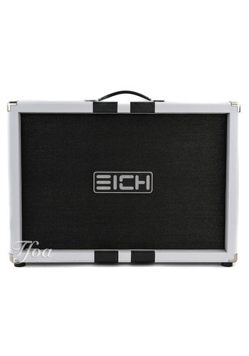 Eich Amplification Eich G212W 2x12 120 Watts 16 Ohms White Flexback Cabinet