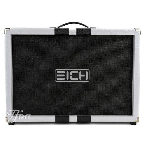 Eich Amplification Eich G212W 2x12 120 Watts 16 Ohms White Flexback Cabinet