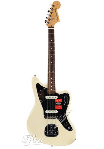 Fender Fender American Pro Jaguar Olympic White RW