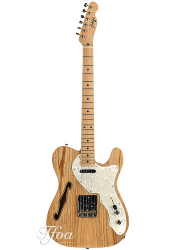 JHG JHG Thinline 69 Telecaster Electric Guitar, NEW