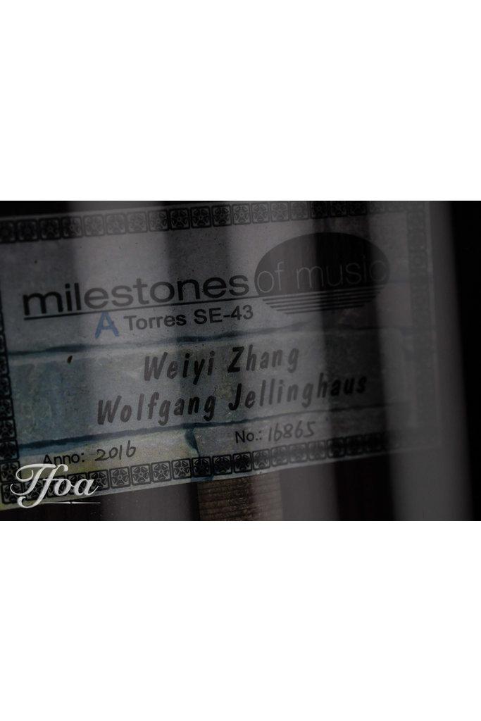 Jellinghaus Torres SE43 varnish 2016