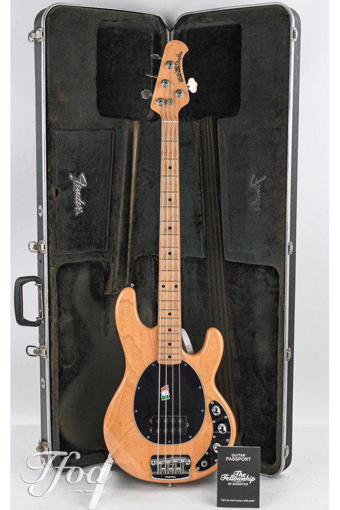 Music Man Stingray Natural 1996