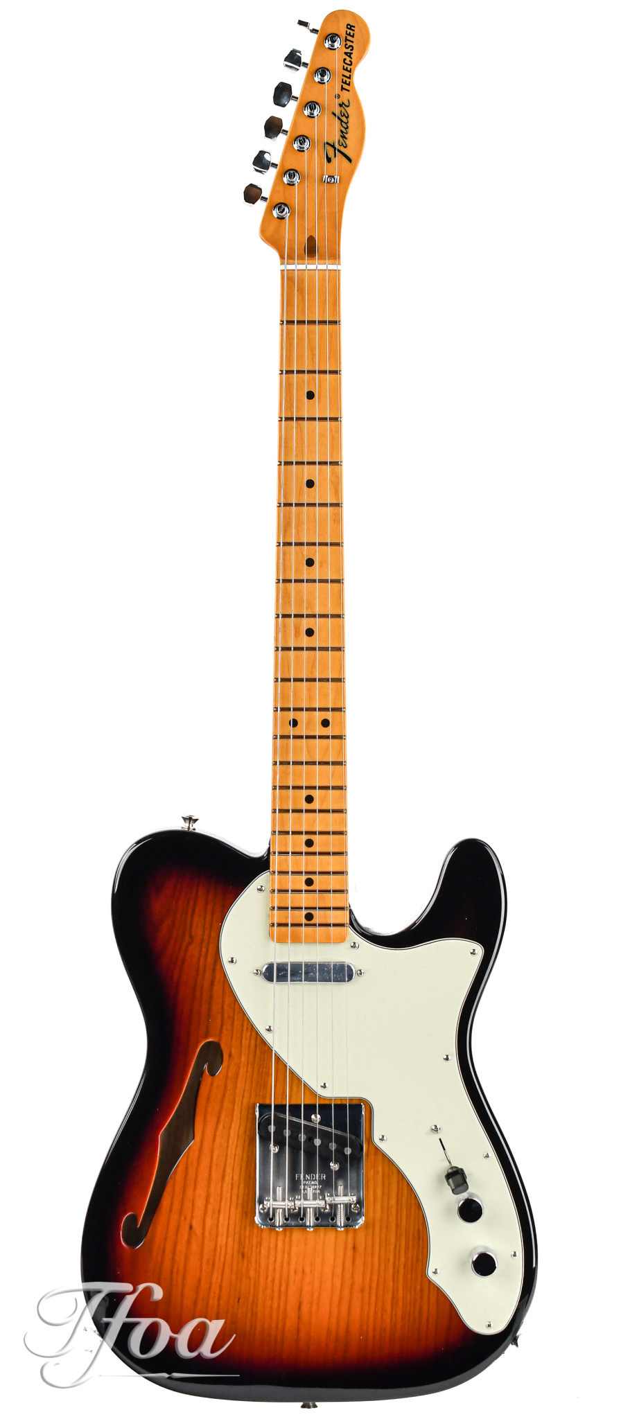 Fender American Original 60s Telecaster Thinline Sunburst MN