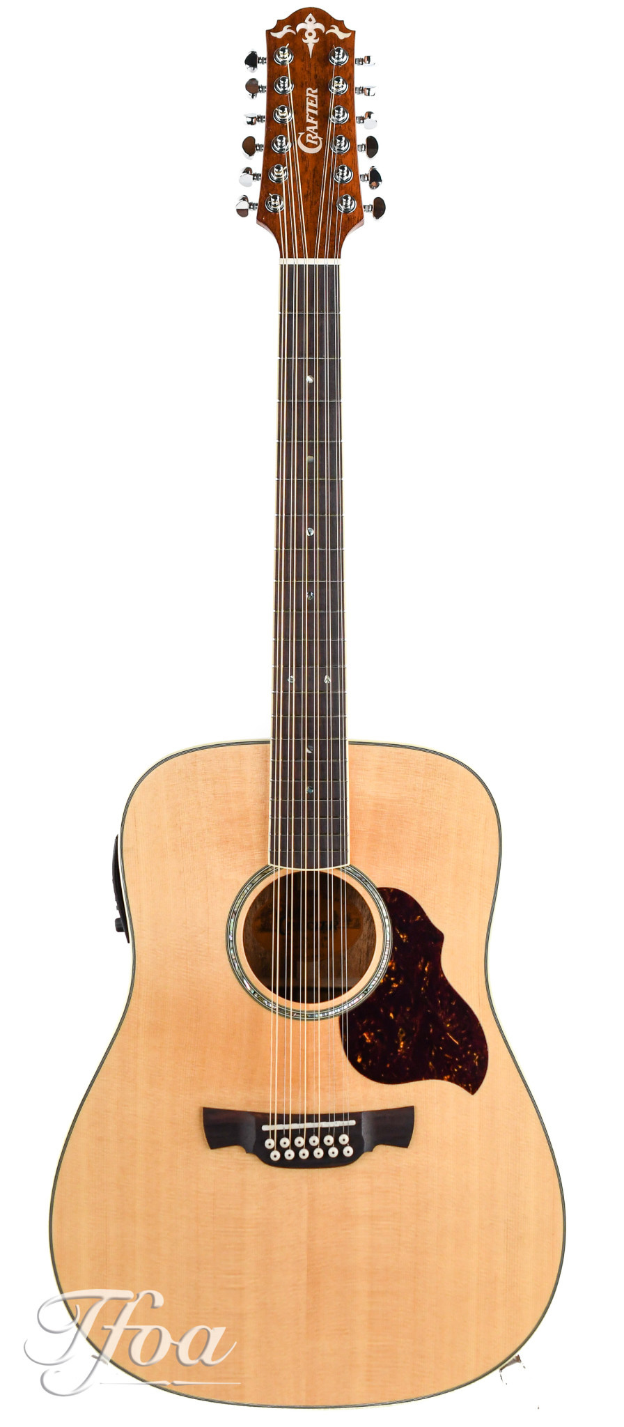 Crafter D8 12N AE 12 String Mahogany Spruce 2016 Near Mint