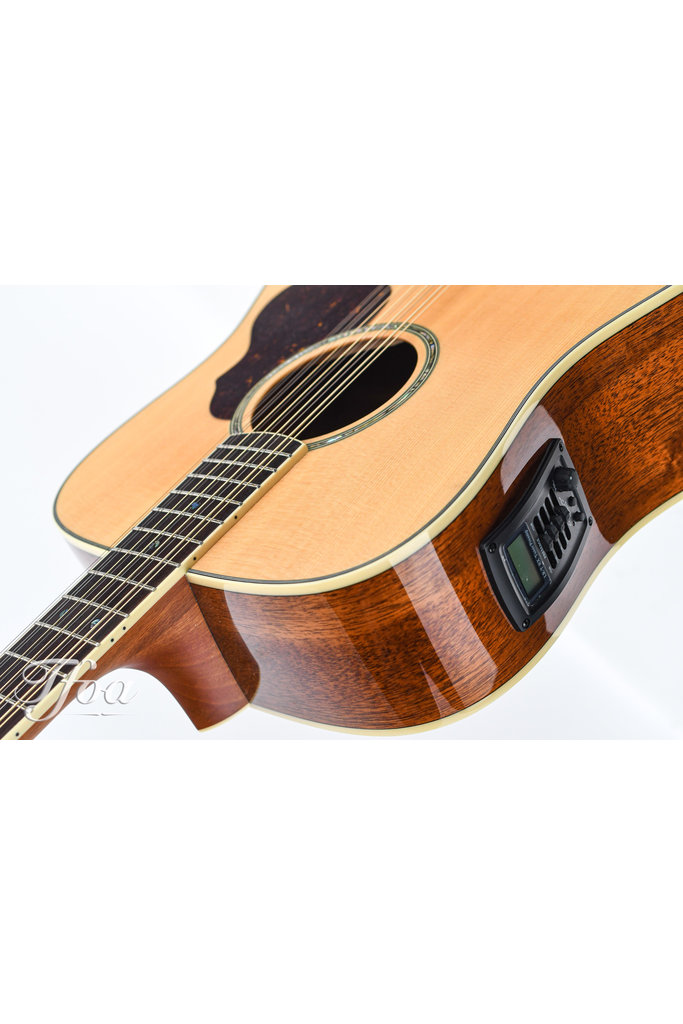 Crafter D8 12N AE 12 String Mahogany Spruce 2016 Near Mint