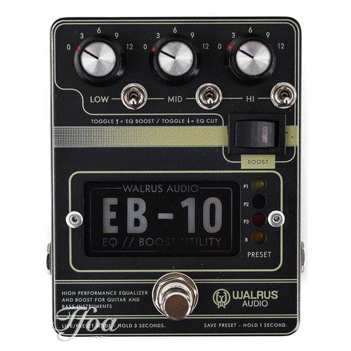 Walrus Audio Walrus Audio EB10 Black Preamp-EQ-Boost