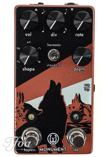 Walrus Audio Walrus Audio Monument V2 Harmonic Tap Tremolo